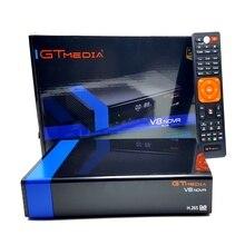5PCS Gtmedia V8 NOVA Orange or Blue Set Top box DVB S2 Built in WIFI Support HD.265 Satellite receiver support  newcamd