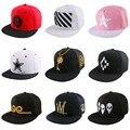 Marca snapback design personalizado hip hop strapback chapéu da menina do menino bonito encantador personagem de banda desenhada padrão hip hop do boné de beisebol casquette