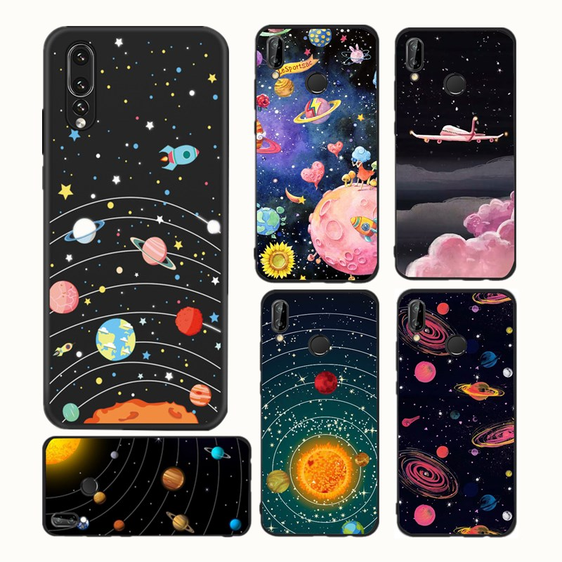 design senza tempo 1a05d 3bda3 Planet Space Phone Case For Huawei P20 Lite Mate 10 Lite Enjoy ...