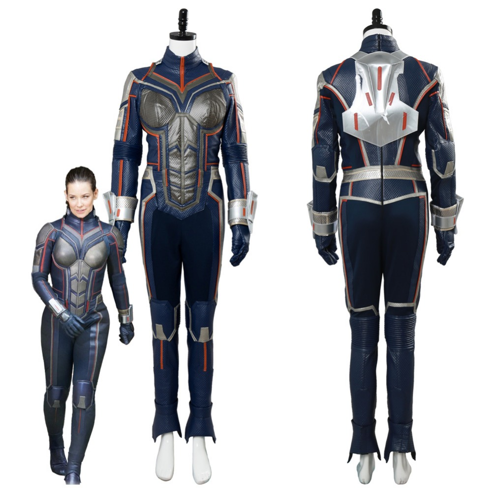 Ant-Man and the Wasp Cosplay Costume Suit Outfit Ant Man Cosplay Costume Halloween Carnival Costumes