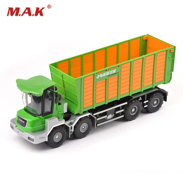 1 32 Scale Farmer Tools Green Truck Model Alloy Diecast Vehicles