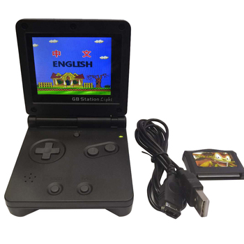 GB PVP Station Video TFT Screen Mini Classic Handheld Player Gifts Game Console Black Portable 142 Games TV Output USB Charging