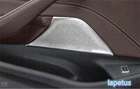 Lapetus Front Door Speaker Audio Loudspeaker Decoration Net Frame Cover Trim Fit For BMW 5 Series Sedan G30 530I 2017 2018 2019