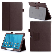 "10"" Slim Tablet Cover PU Leather Case for Huawei M2 10.0 Luxury Flip Stand Cover for Huawei MediaPad M2 10.0-A01W M2-A01L"