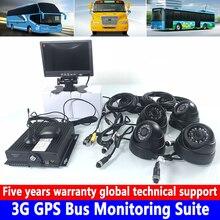 Легковой автомобиль/небольшой автомобиль 3g gps автобус диагностический комплект 4 канальная sd-карта хост мониторинга 3 дюймов пластик полушария автомобиля камера