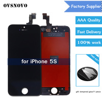 Assembly 5S 4 4s LCD Display With Touch Screen Digitizer For IPhone 5S A1530 A1528 A1518