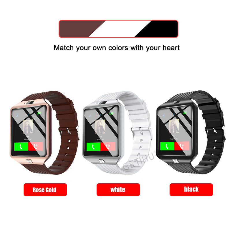 HTB1NiyiXinrK1RjSsziq6xptpXam - Stylish Smartwatch with Bluetooth SIM TF Card Slot and Camera