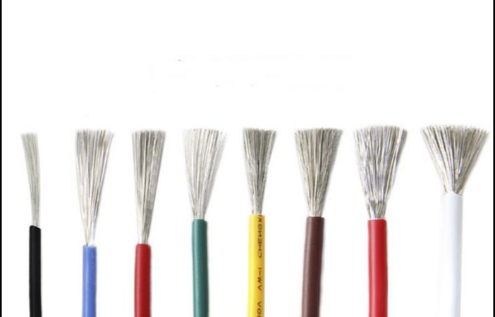 10M/lot 22AWG High Temperature Silicone Wire Conductor 60/0.08mm AWG22 Tinned Copper Cable