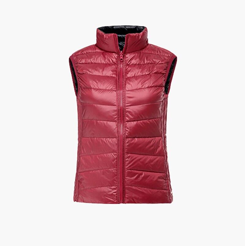 חדש גולף PGM ביגוד לנשים חזיית נוצת פרווה כפולה Slim Vest דאון