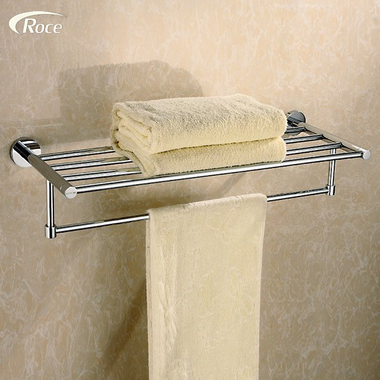 Special offer towel rack German export Towel Rack stainless steel towel rod bathroom towel high-grade double Pendant стоимость