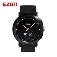 Reloj Hombre EZON Смарт часы для мужчин для женщин Bluetooth оптический сердечного ритма мониторы удаленного камера спортивные наручные часы