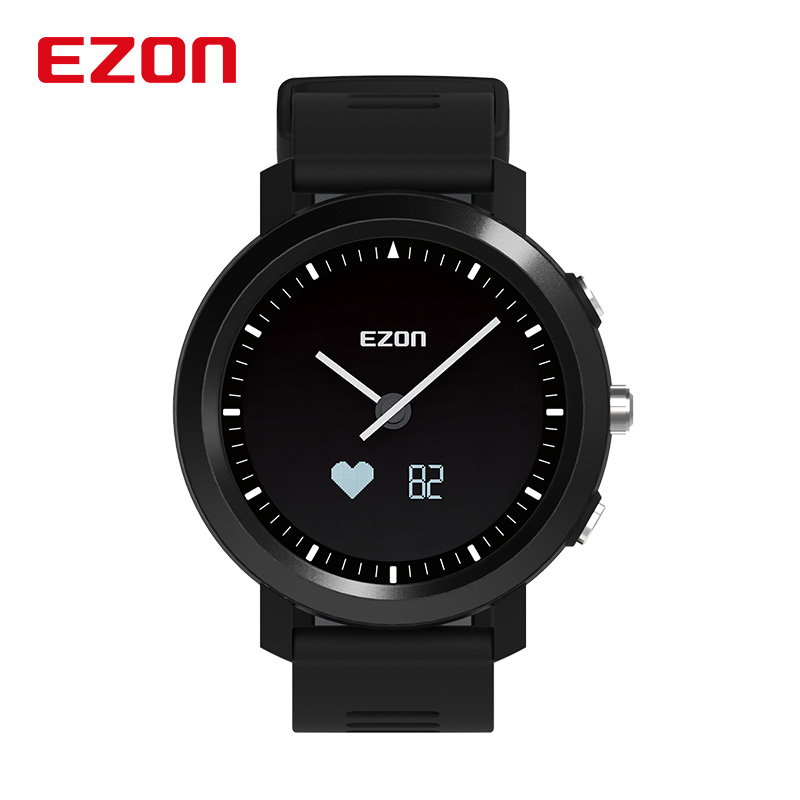 Relojes EZON Smart Bluetooth Sport Watch Men Women Optical Heart Rate Monitor Remote Camera Clock Rechargeable Smartwatch Saat цена