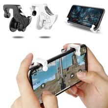 1 Pair Phone Holder Gamepad Trigger Fire Button Smart Phone Joysticks Games Controller for PUBG
