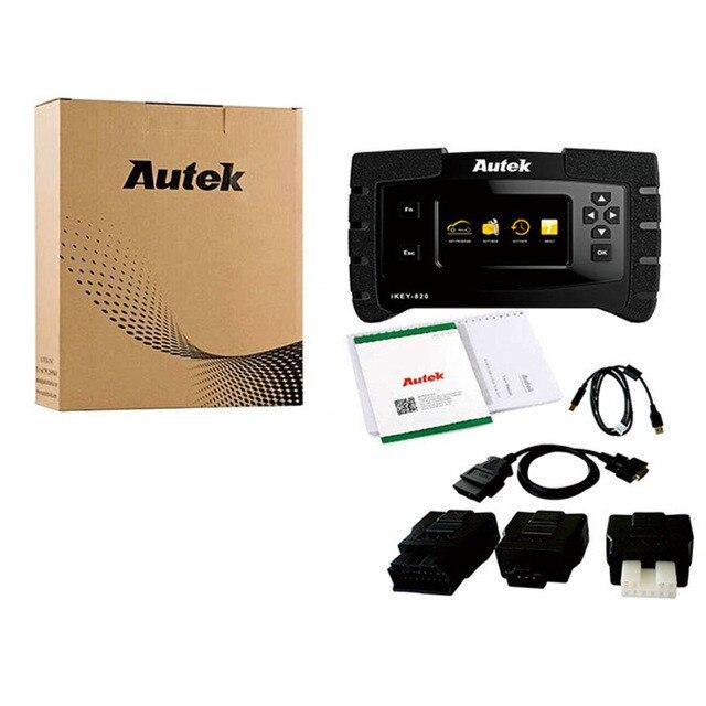 Новая версия оригинальный Autek IKey820 программист ключ универсальный автомобильный ключ программист