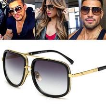 Oversized Men Sunglasses men luxury brand Women Sun Glasses Square Male Gafas de sol female sunglasses for women 2019