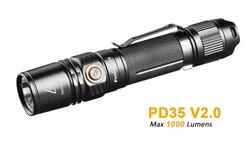 FENIX PD35 V2.0 Flashlig Torch 1000 lm adequado para uso militar policiamento exploração ao ar livre iluminação de emergência
