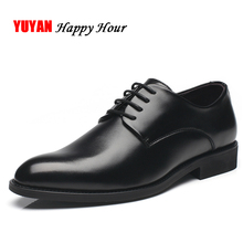 New 2019 Soft Leather Shoes Men Brand Footwear Non-slip Fashion Men's Casual Shoes Male High Quality Black Shoes K111