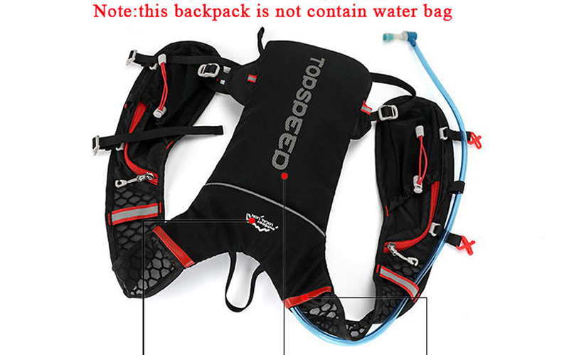 backpack for Holding Water Bag travel 21