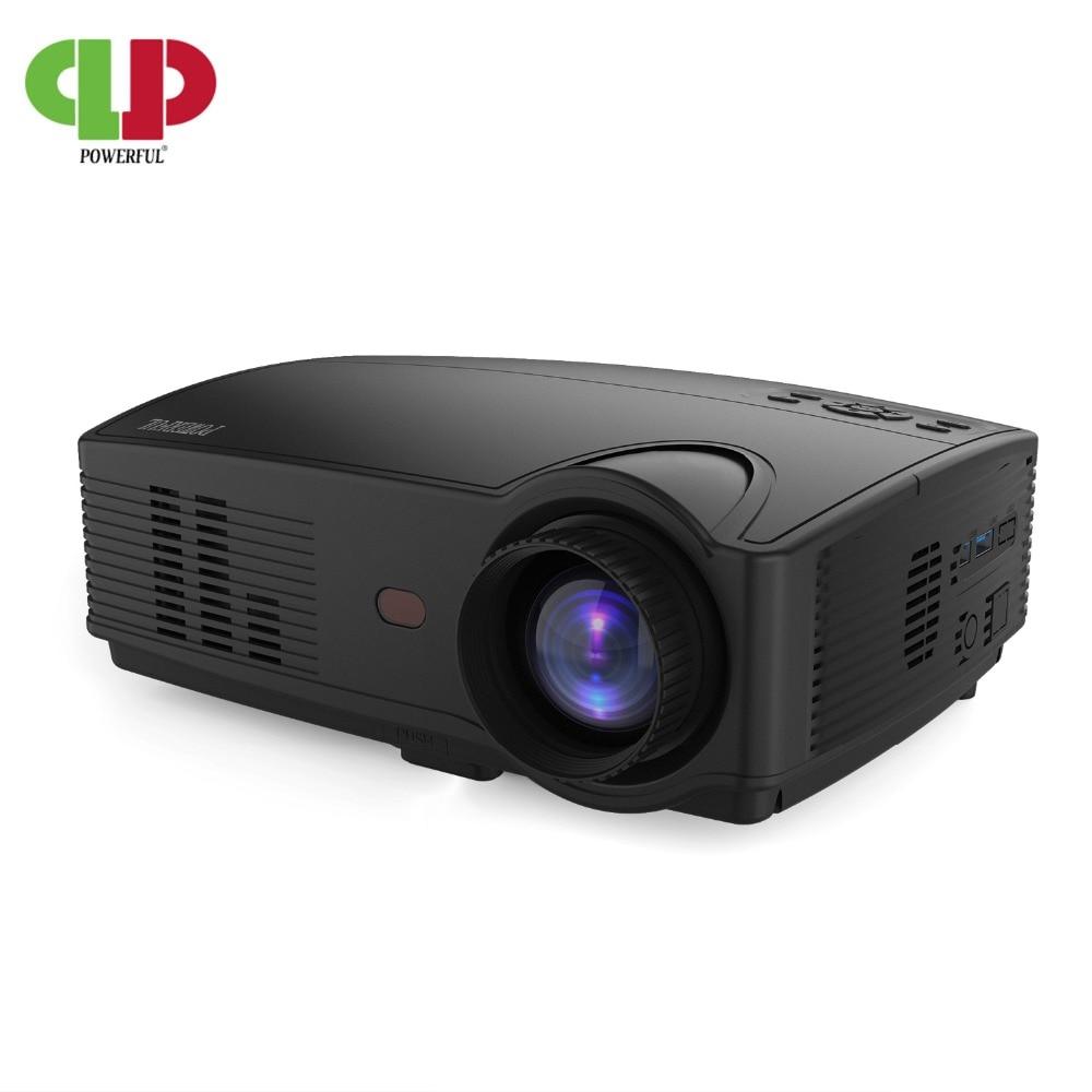 Puissant SV-328 led HD Projecteur 3000 Lumens Beamer Vidéo Accueil salle de cinéma Film Beamer Proyector Projecteur 4 K 1080 P 3D