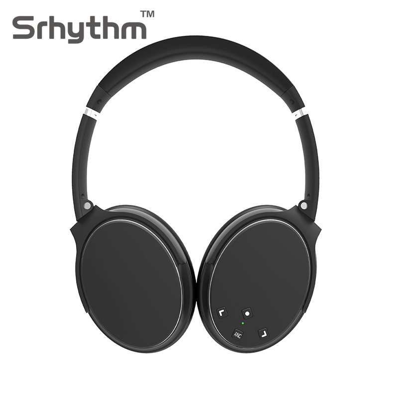 2018 New Active Noise Cancelling Headphones Hifi Wire Bluetooth Headphone ANC Wireless Foldable Over Ear Headset With Microphone earphone musical ear phones headphones with microphone bluetooth headset wireless noise cancelling computer fm tf card headband