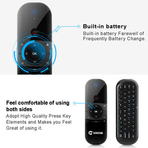 Image 5 - VONTAR Air Mouse Rechargeable English Russian 2.4GHZ Wireless Keyboard Remote Control For Windows Android TV Box PC gamer