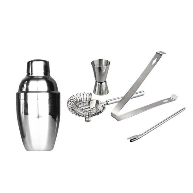 Stainless Steel Bartender Cocktail Shaker