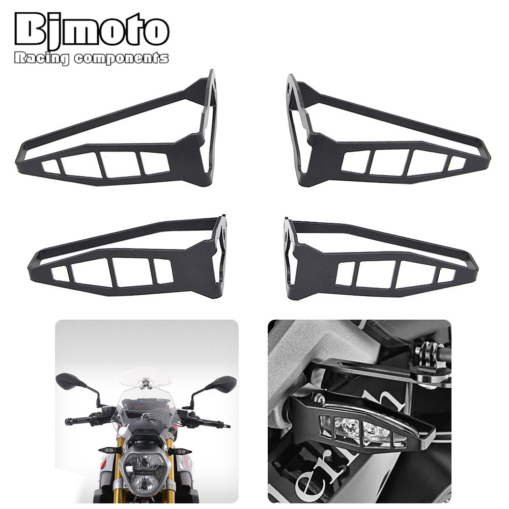 Motorcycle Rear/Front Turn Signal Light Protector Cover Indicator Guard For BMW R1200 S1000RR F700 GS F800 S1000R R nine T 12v 3 pins adjustable frequency led flasher relay motorcycle turn signal indicator motorbike fix blinker indicator p34