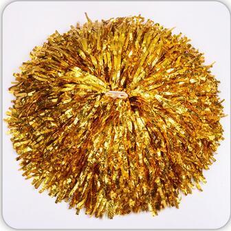 gold Small cheer pom poms 5c64fbbde4060