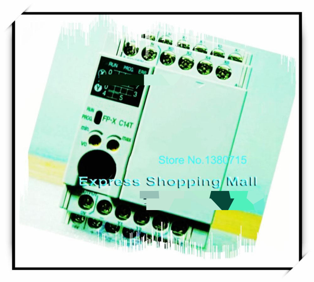 New Original AFPX-C14TD PLC 24VDC 8 DC input points 6 NPN output points FP-X Control Unit plc afp0rc14rs 24 v dc 8 input points 6 relay output points new original well tested working three months warranty