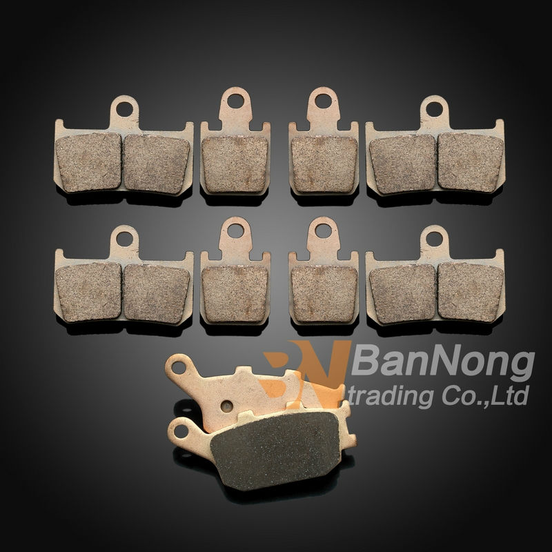 ФОТО 5 Pair Free shipping Motorcycle Metal Front Rear Brake Pads For Yamaha YZF R1 2007-2013 07 08 09 10 11 12 13