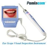 66B 3,9 мм объектив отоскоп ушной нос область эндоскопа Камера 2,4 TFT ЖК дисплей записываемый устные тестер полости визуальный осмотр инструмен