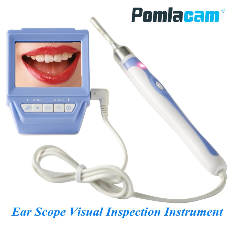 66B 3.9mm Lens Otoscope Ear Nose Scope Endoscope Camera 2.4 TFT LCD Recordable Oral Cavity Tester Visual Inspection Instrument ear care medical diagnostic tool 3 0 inch ear nose scope throat oral cavity otoscope tv video inspection camera lcd tool h7jp
