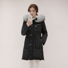 Womens Winter Jackets And Coats Special Offer New 2016 Winter Warm Cotton Jacket Women Thick Slim Hooded Plus Size Long Coat