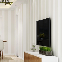beibehang papel de parede 3D Modern simple neutral white textured striped wallpaper covering Wall paper wall papers home decor