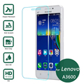 For Lenovo A3600 Tempered glass Screen Protector 2.5 9h Safety Protective Film on A3800 A 3600 3800