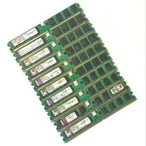 Used original 10 pieces Kingston Desktop RAM DDR2 2GB 2g PC2-6400 800MHz PC DIMM Memory 240 pins For AMD for intel Batch sales(China)