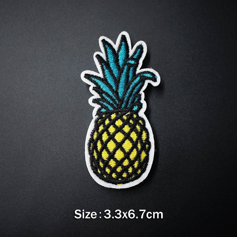 Банан молния кактус DIY тканевые значки для украшения утюга на патч одежда швейное украшение аппликация Пришивные нашивки - Цвет: 8