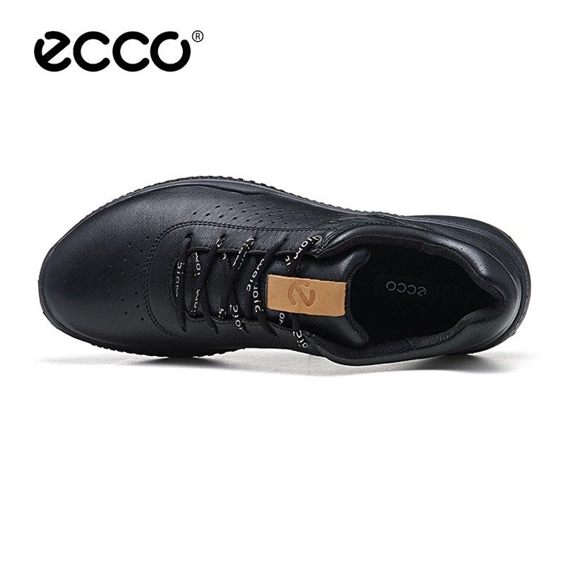Véritable ECCO cuir hommes Chaussures décontractées marque de luxe automne hommes à lacets Chaussures respirantes hiver Zapatos nouveauté - 2