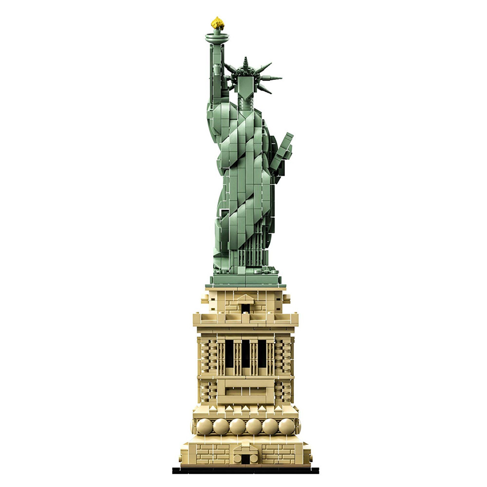 City Skyline Architecture Statue of Liberty New york Building Blocks Kit Bricks Sets Classic Model Kids Toys Compatible Legoings