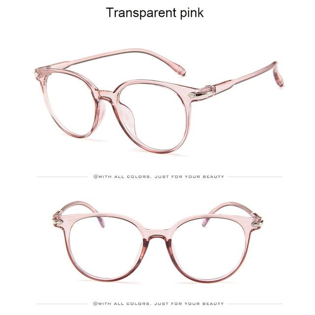 380d5b77c50 Hot Sale New Fashion Women Glasses Frame Men Eyeglasses Frame Vintage Round Clear  Lens Glasses Optical Spectacle Frame