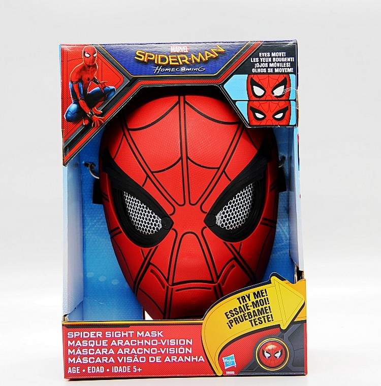 Original Spider-Man: Homecoming Spider Sight Mask пластилин spider man 10 цветов