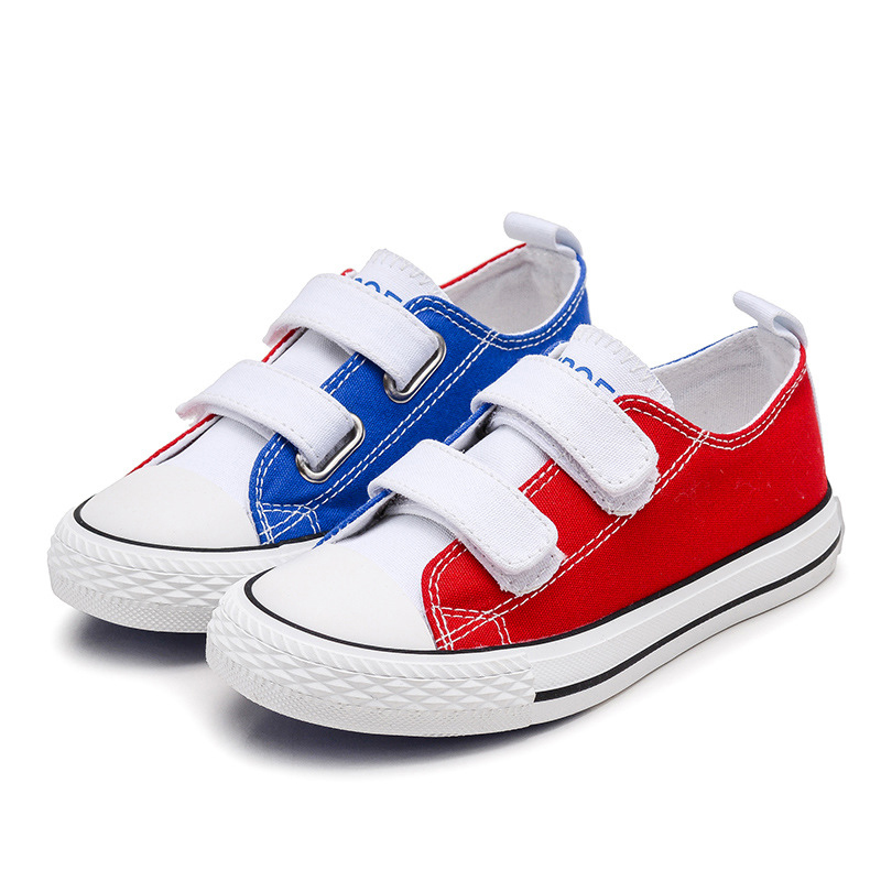 Girls Kids Shoes 2017 Boys Glowing Sneakers Two Colors Canvas Shoes  Students Breathable Casual Flat Children Shoes-in Sneakers from Mother    Kids on ... 9ff5c0d44366