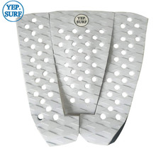 Free Shipping EVA Deck Pad White Surfboard Traction surf pads grip pranchas de