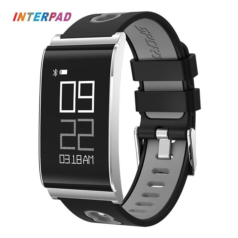 Interpad N109 Спорт Bluetooth умный Браслет крови кислородом PressureBand Фитнес трекер умный браслет лучше, чем Mi Группа 2