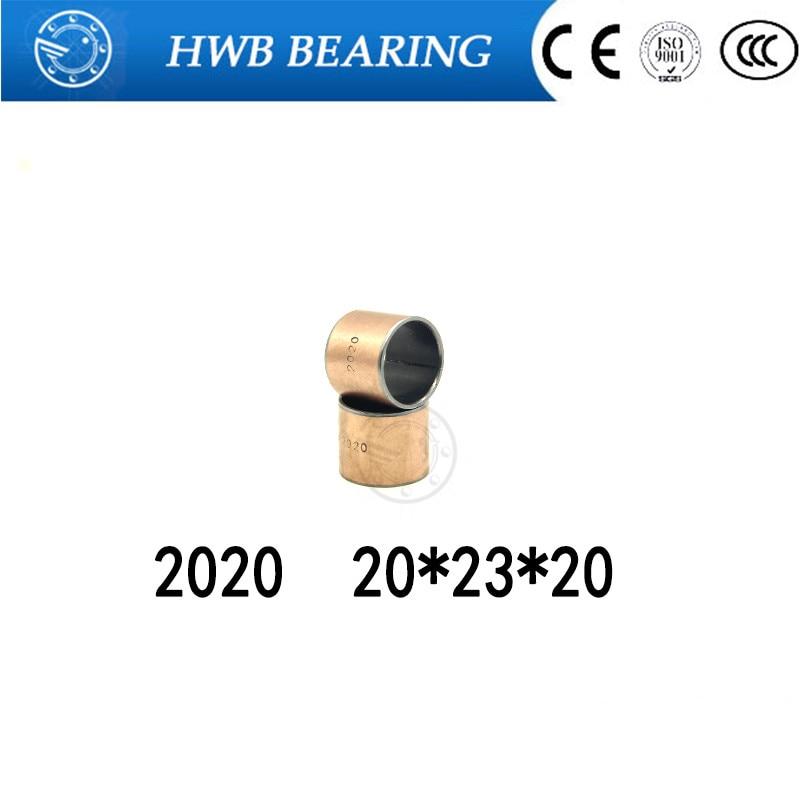 Buy 10Pcs SF1 SF-1 2020 Self Lubricating Composite Bearing Bushing Sleeve 20 x 23 x 20mm Free shipping