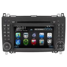 2 DIN HD Capacitive Screen Car DVD For Mercedes A B Class W245 W169 Viano Vito Sprinter B160 B200 Stereo Radio GPS CD function
