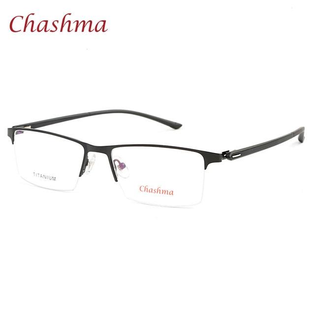 Chashma Brand 2018 New Design Alloy Eyewear Trend Half Rimmed Men\'s ...