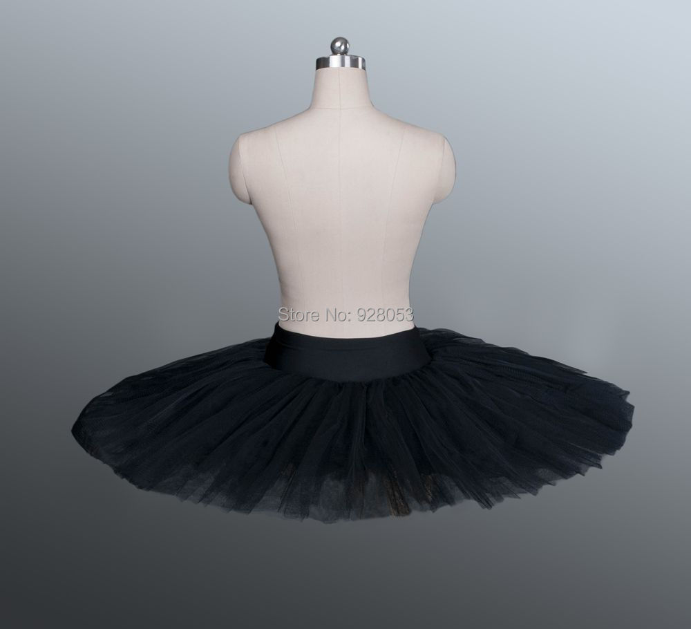 430b1bb7fe Adult&Child Half Ballet Tutu,Black Pancake Ballet Tutus Female,8 Layers Of  Tulle Skirt,Dance Costumes For Sale-in Ballet from Novelty & Special Use on  ...