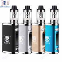 Cigarette électronique JSLD 80W kit vape intégré 2000mAh boîte de batterie mod grand kit de vape de vapeur de fumée VS TXW 80w vape ecigarettetak