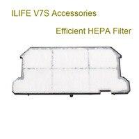Original ILIFE V7S Robot Vacuum Cleaner Mop 5 Pcs Efficient HEPA Filter 5 Pcs And Side